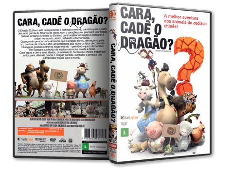 Capa DVD Cara, Cadê o Dragão?