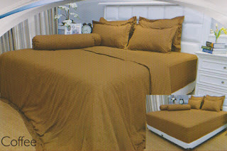 sprei Internal Vallery Coffe