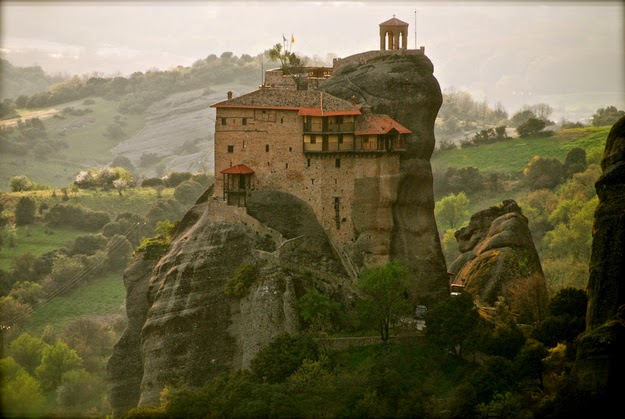 39. The mind-boggling monasteries at Meteora. (Meteora's Byzantine monasteries date back to the Middle Ages.) - 49 Reasons To Love Hellas (Greece)