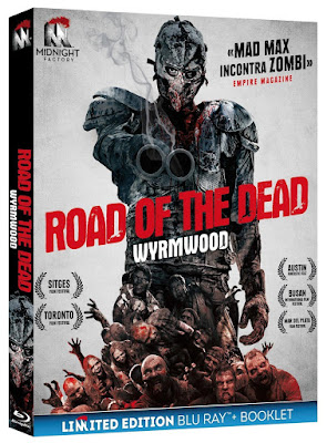 "La cover dell'edizione homevideo italiana di ""Road Of The Dead - Wyrmwood"""