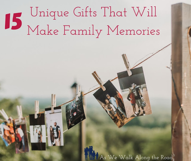 Unique family memory gifts to give