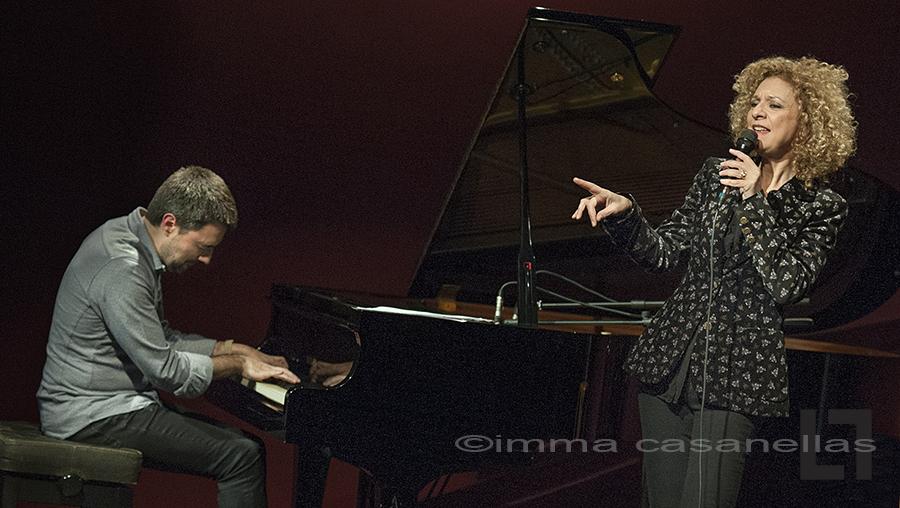 Carme Canela & Joan Monné, Auditori Vinseum, Vilafranca del Penedès, 16-març-2019