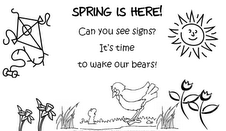 welcome spring coloring pages - photo#16