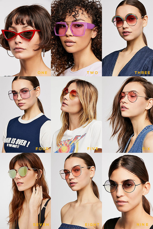 9 Statement Sunglasses Under $  30