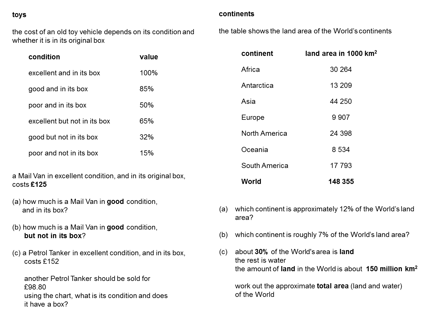 Median Don Steward Mathematics Teaching Percentages Ks3 Sats Questions