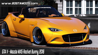 GTA V - Mazda MX5 Rocket Bunny 2016