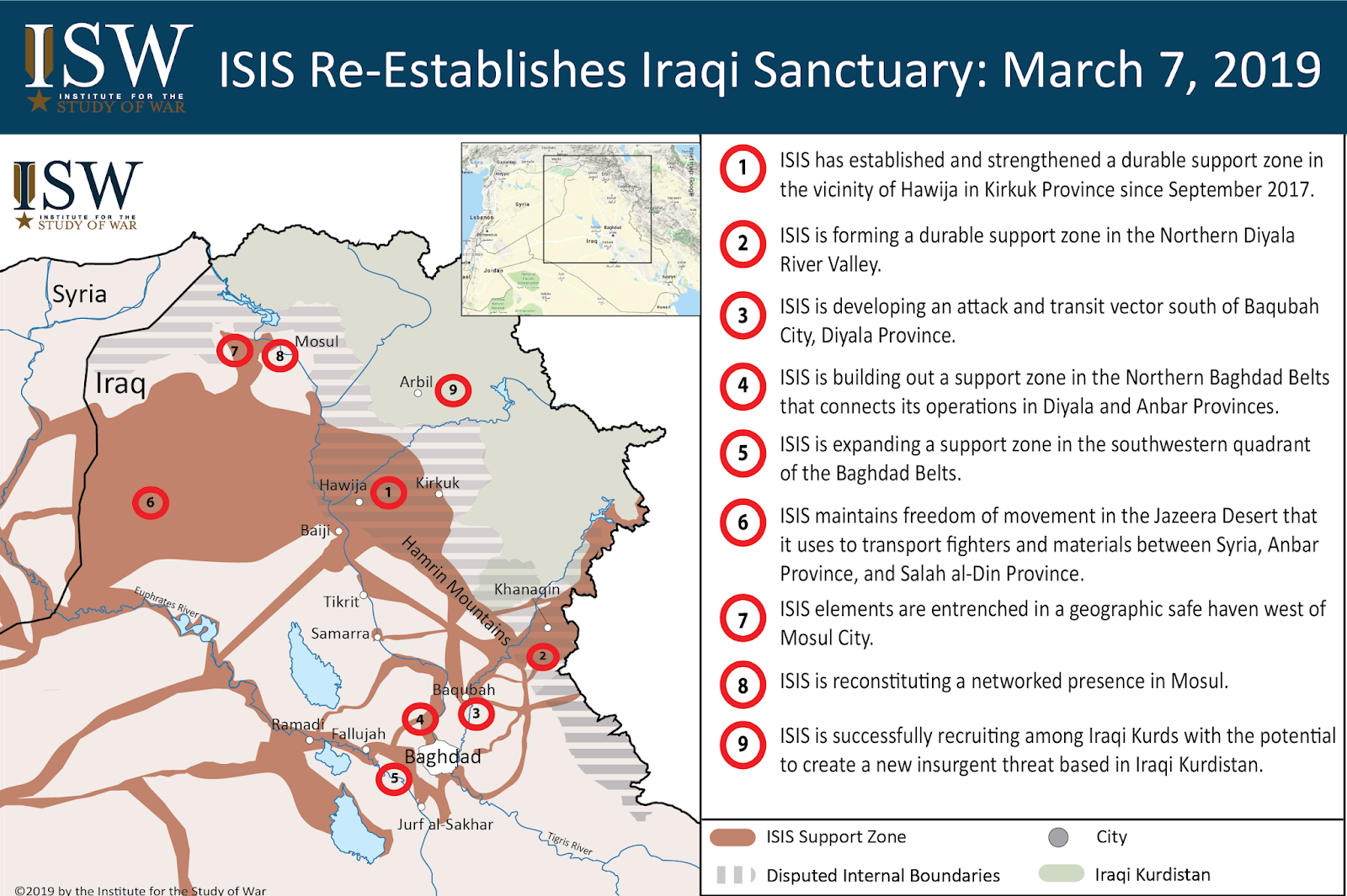 ISW Blog: ISIS Re-Establishes Historical Sanctuary in Iraq
