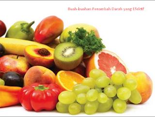 buah-buahan penambah darah yang efektif