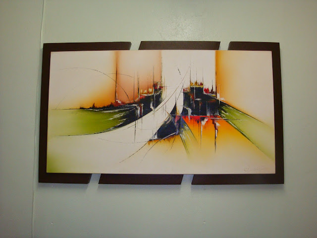 Projeto 52 Objetos | Objeto 32 (Quadro Abstrato)