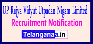 UPRVUNL Uttar Pradesh Rajya Vidyut Utpadan Nigam Limited Recruitment Notification 2017