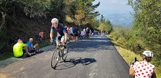 Cycling the tough Balcón de Bizkaia on Vuelta 2018