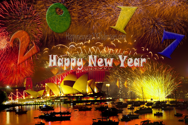 New year 2017 Fireworks Desktop Wallpapers Download Free In HD