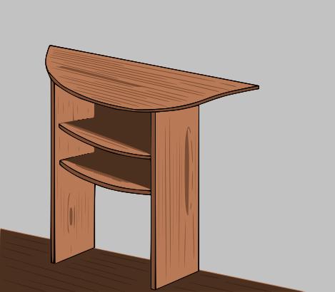 Lavori creativi fai da te an online help come costruire un tavolo in legno a mezzaluna - Costruire tavolo in legno ...