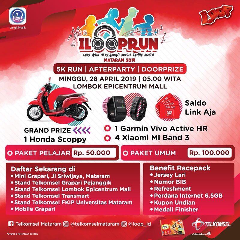 I Loop Run - Mataram • 2019