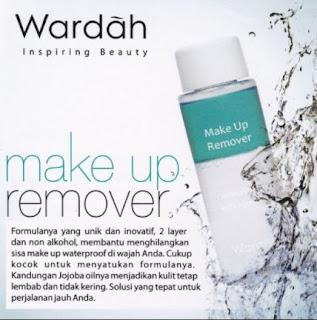 Make Up Remover Wardah Menghapus Riasan Waterproof Kulit Lembab Tidak Kering