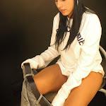 Andrea Rincon, Selena Spice Galeria 19: Buso Blanco y Jean Negro, Estilo Rapero Foto 74