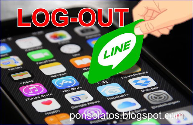 Cara Log Out LINE di Smartphone Android