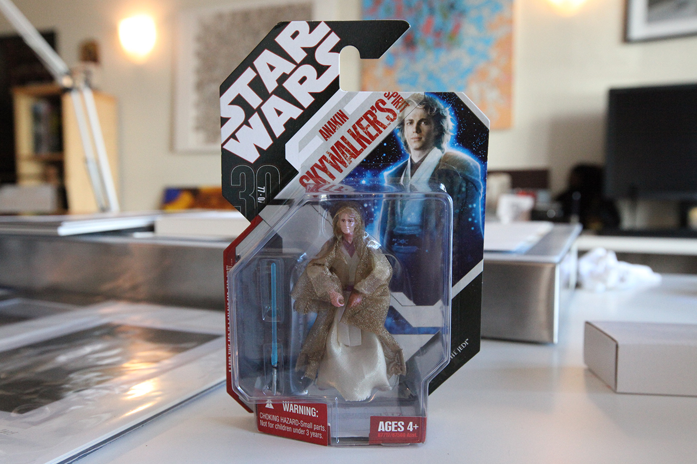 Gifts from George - Star Wars Anakin Skywalker toy