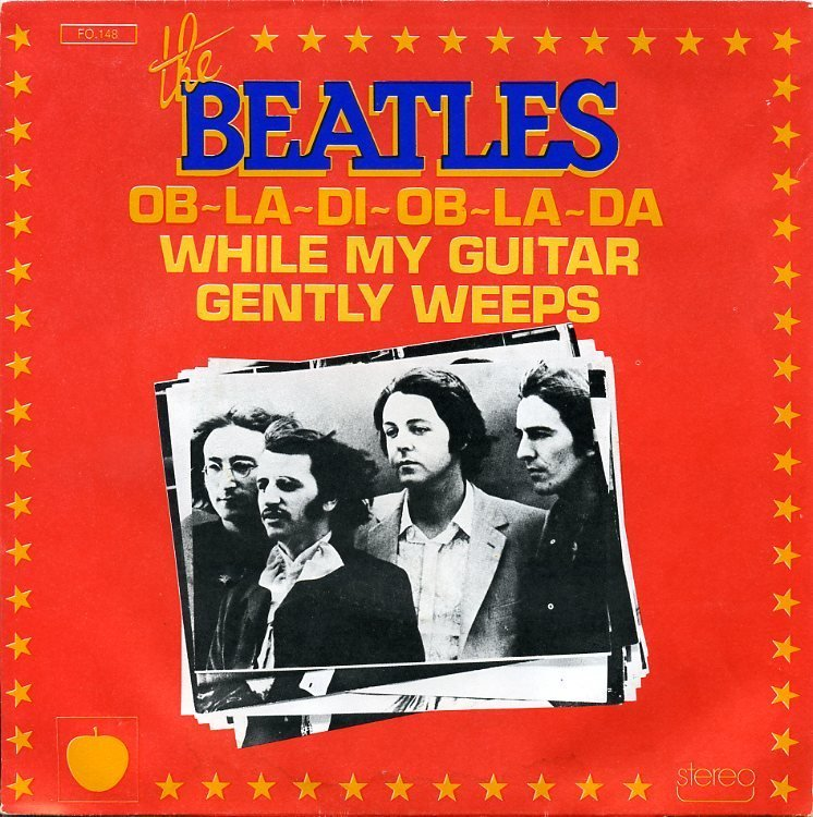 The Beatles While My Guitar Gently Weeps Chords Lyrics Kunci Gitar