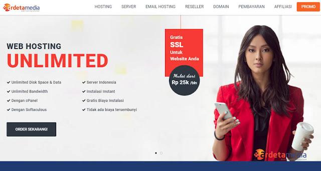 Ardetamedia - Daftar Web Hosting Terbaik Di Indonesia 2018