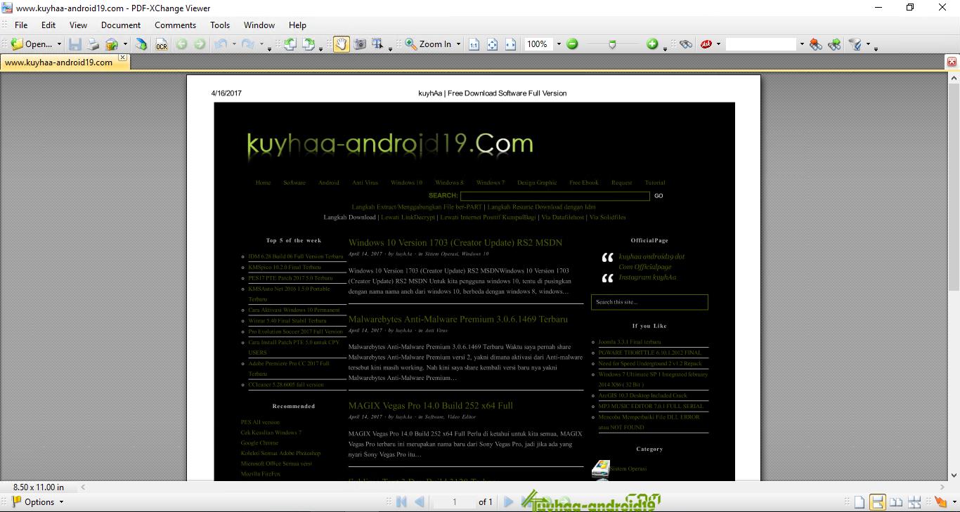 PDF-XChange Viewer Pro kuyhaa