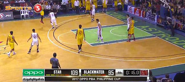 Star Hotshots def. Blackwater, 111-95 (REPLAY VIDEO) January 25