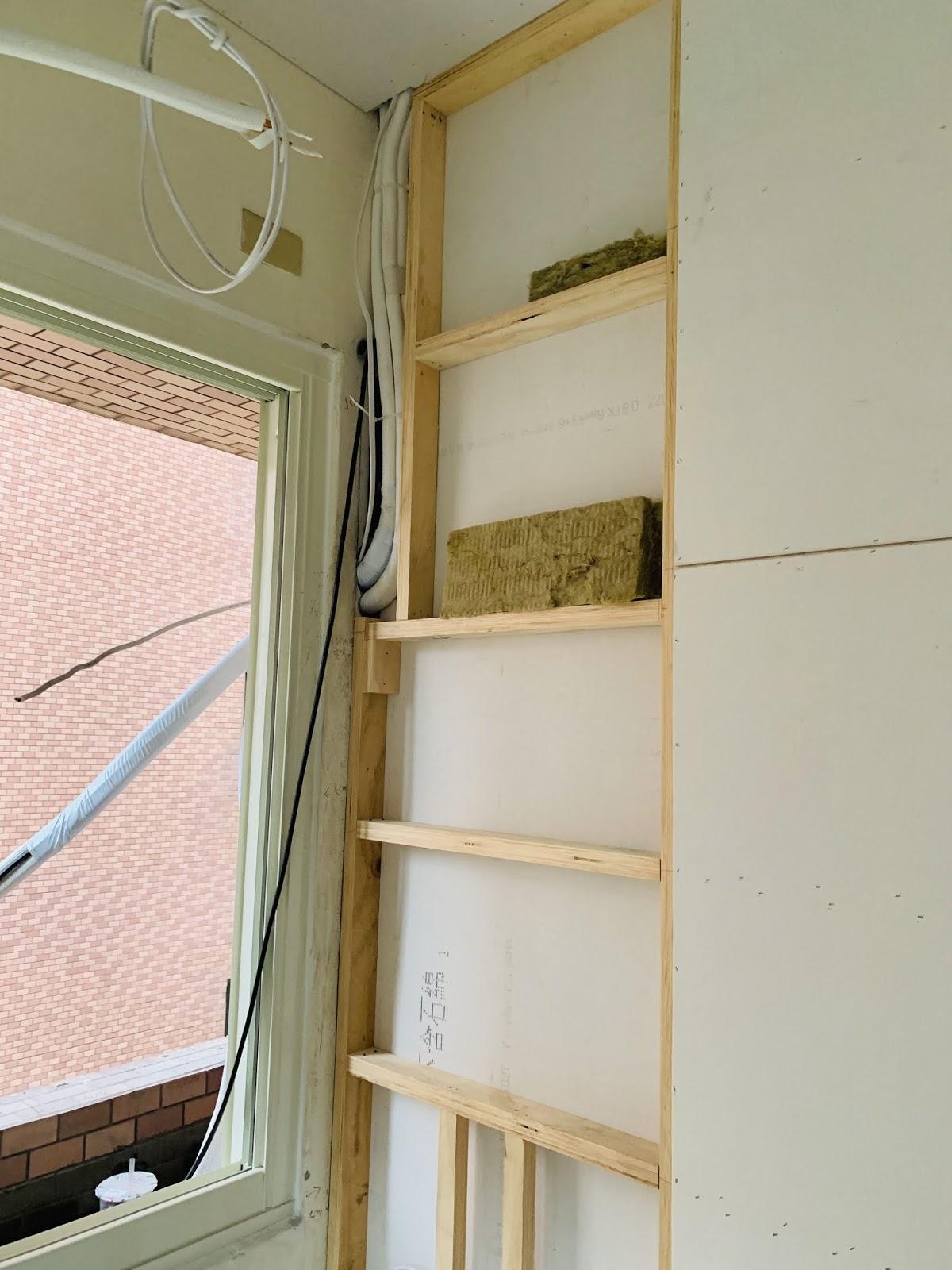 木作隔間封板