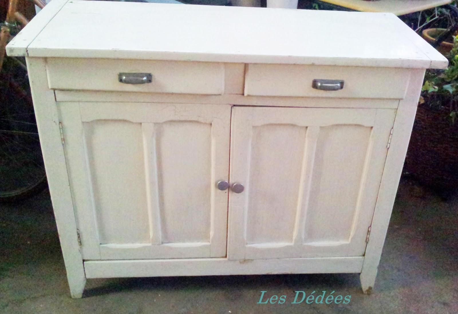 les dedees vintage recup creations petit buffet. Black Bedroom Furniture Sets. Home Design Ideas