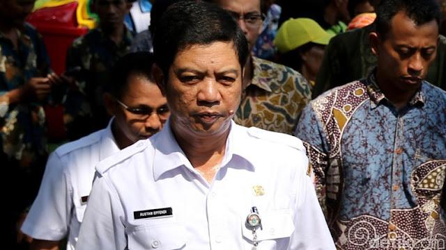 Rustam Effendi Mengundurkan diri dari Jabatan Wali Kota Bukan PNS nya