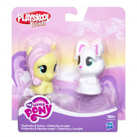 MLP Playskool Friends Fluttershy & Bunny Set