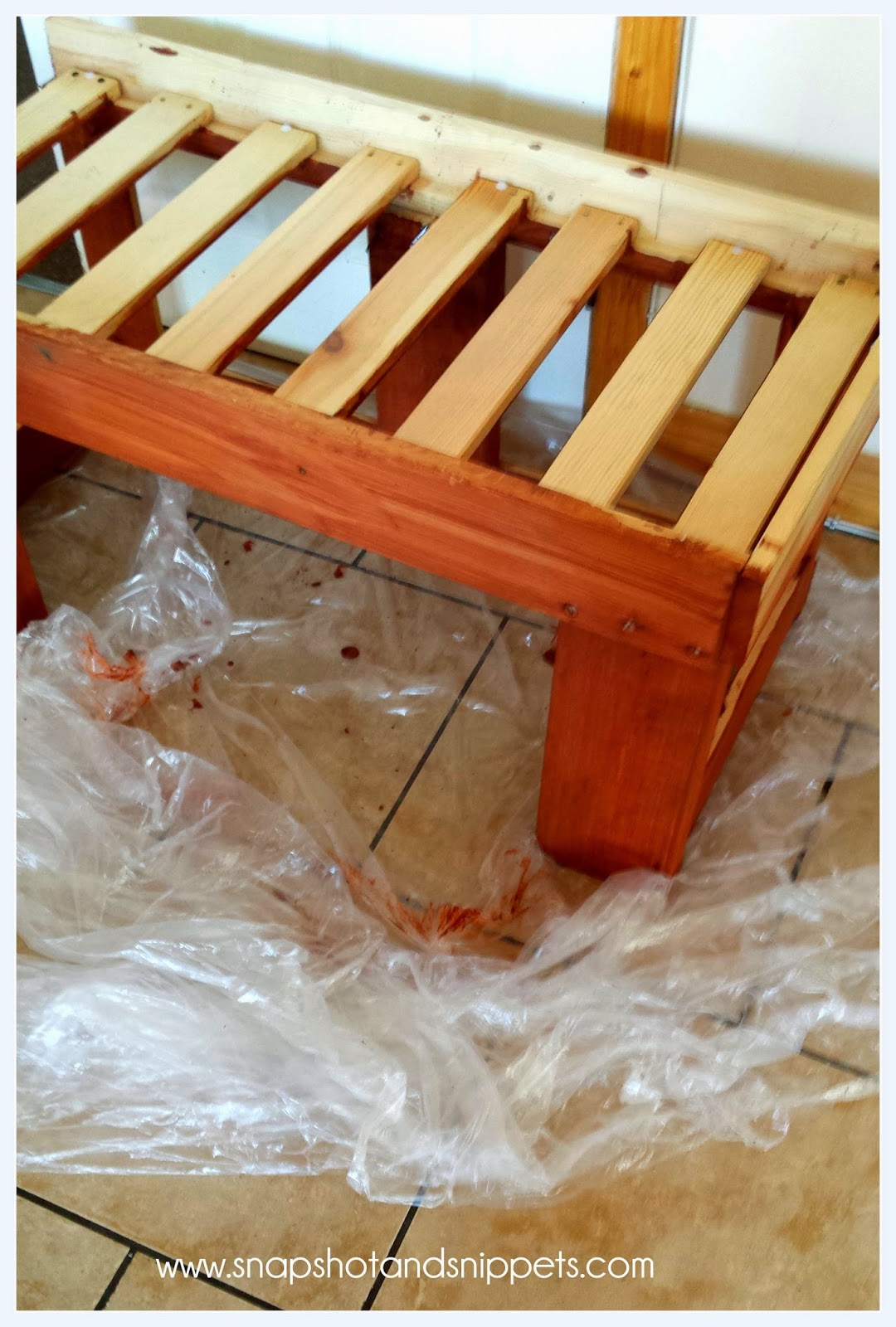 indoor staining
