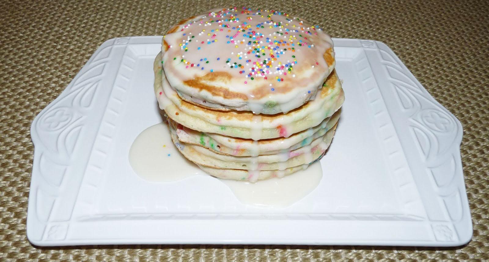 Birthday Cake Rr Birthday Pancakes