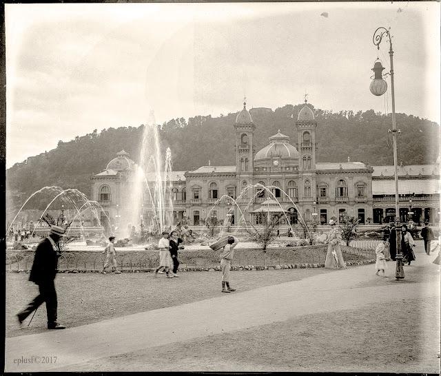 Casino à San Sebastian  Espagne 1904