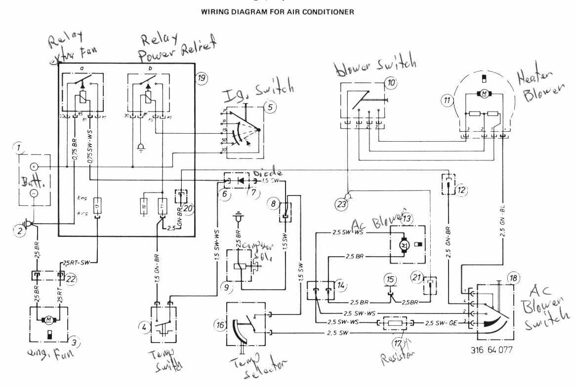 Bmw 320i Air Conditioning Wiring Diagram