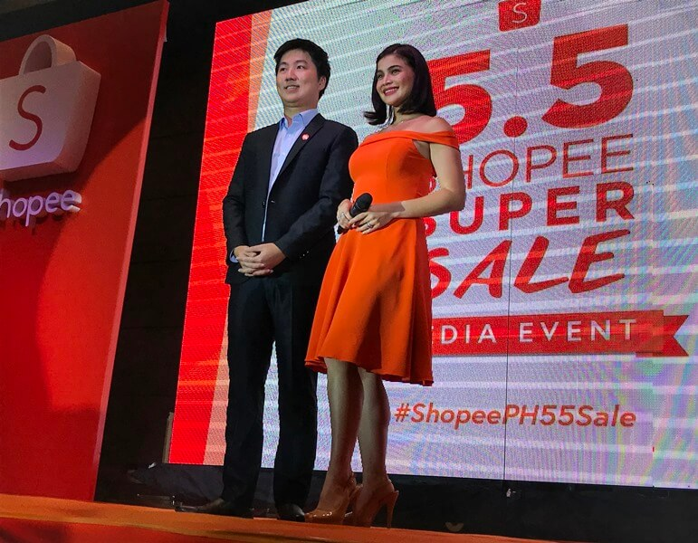 Shopee Reveals Anne Curtis as First A-list Brand Ambassador; Launches 5.5 Shopee Super Sale