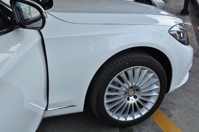 Mâm xe Mercedes S500 L 4MATIC thiết kế lịch lãm 19 Inch