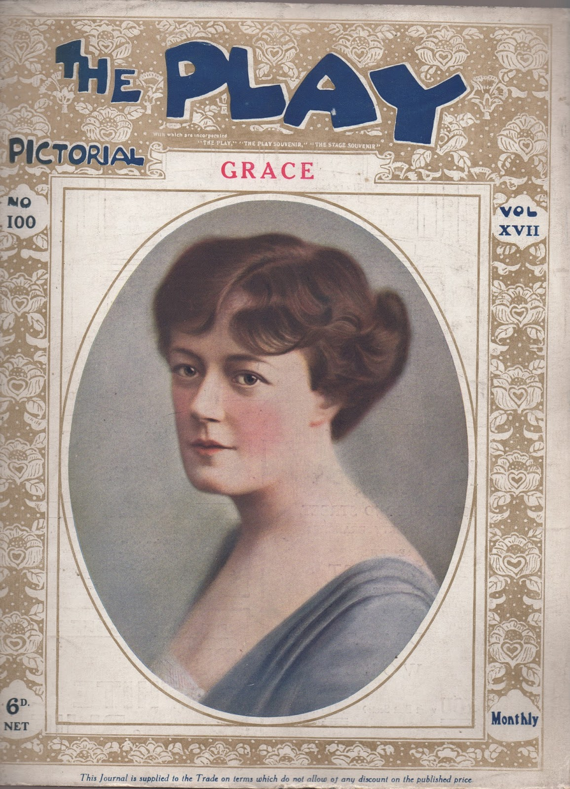 cover of The Play Pictorial - Grace by W. Somerset Maugham