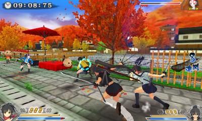 Senran Kagura 2: Deep Crimson screenshot 1