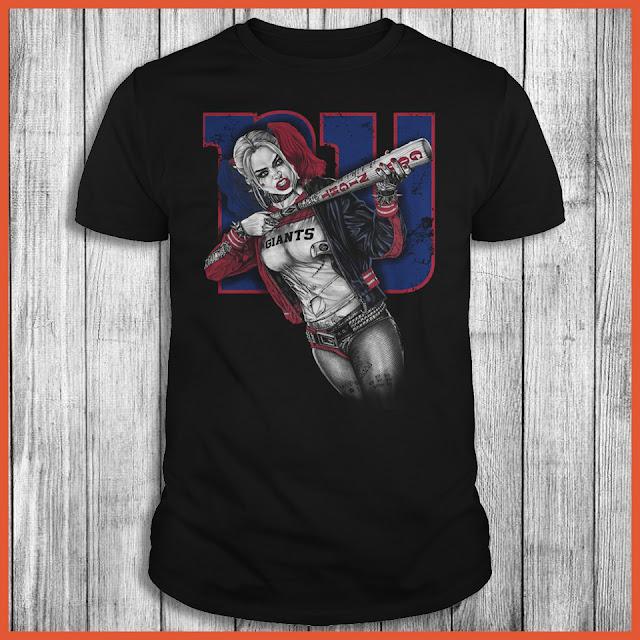 New York Giants Harley Quinn T-Shirt