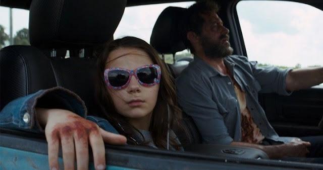 Hugh Jackman y Dafne Keen en el tráiler de Logan