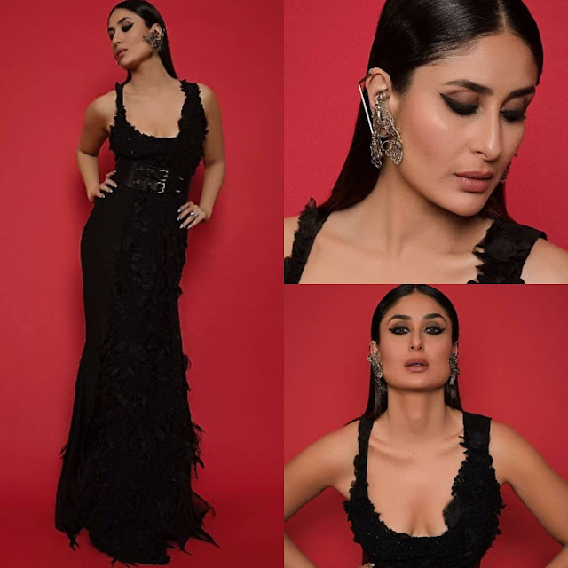 Kareena Kapoor in Black Attire at LFW 2018 Finale