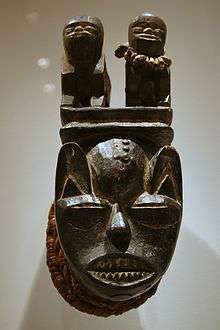 An Isoko Mask A BRIEF MYTH OF CREATION OF THE EARTH BASED ON THE ISOKO TRADITION OF NIGERIA.