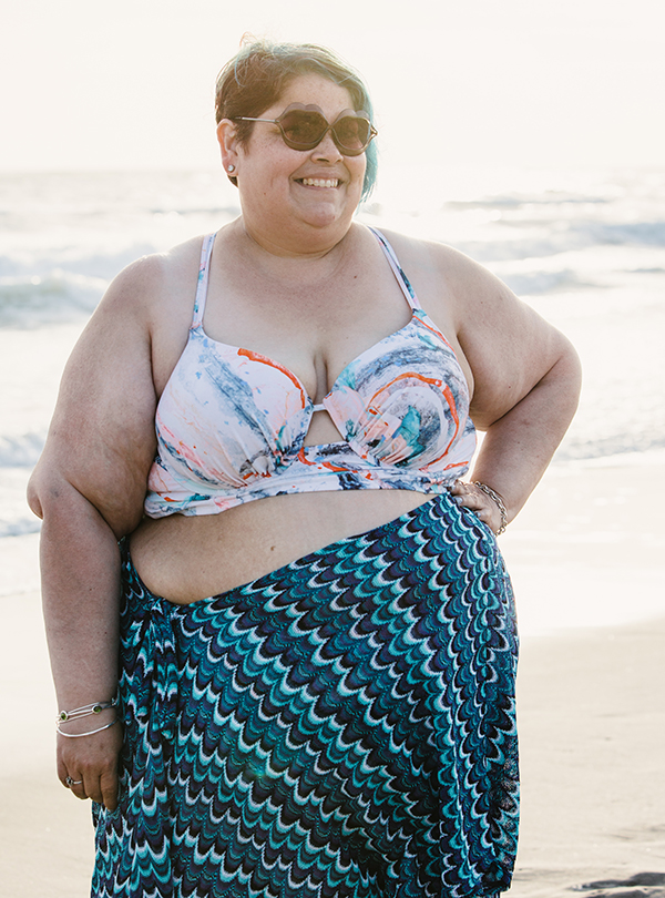 287f9320532 I was terrified because not only have I NOT worn a two-piece in public  since I was 12 but I also have a fear of being too close to the ocean.