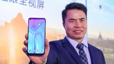 For Huawei Honor View 20. Announced in the last days of December 2018 for China first, Honor View 20