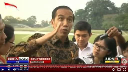 Jokowi Terjungkal Omongannya Sendiri dan Orang Sekitarnya