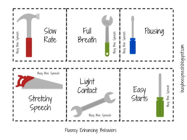 Busy Bee Speech: Fluency Tools
