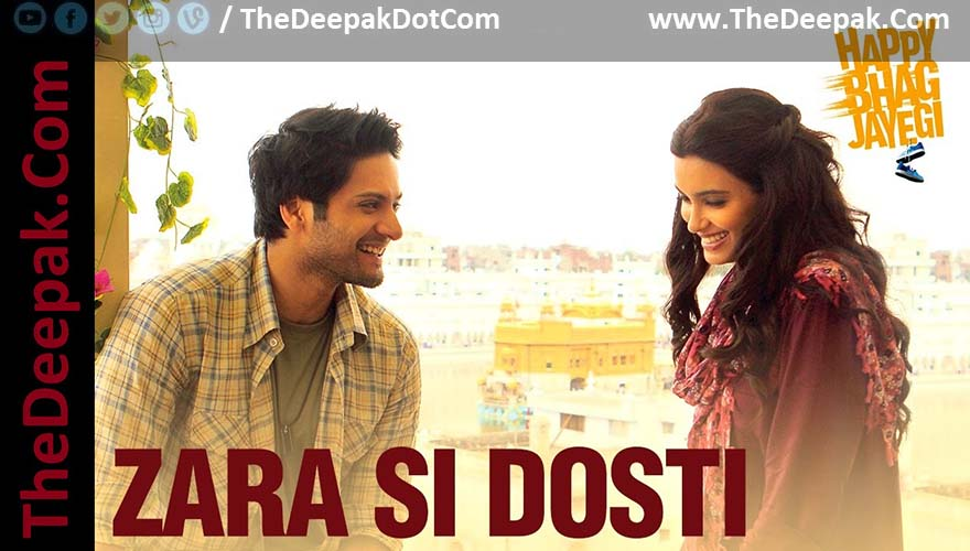 Zara Si Dosti Guitar CHORDS + STRUMMING Arijit Singh | Happy Bhag ...