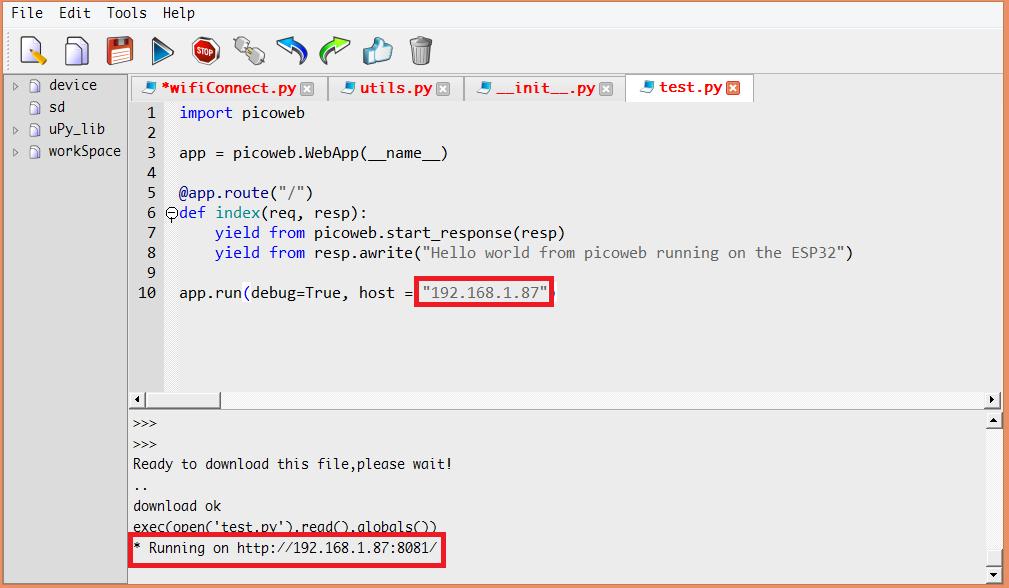 ESP32 MicroPython Tutorial: HTTP Webserver with Picoweb | DFRobot
