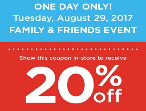 Shoppers Drug Mart Friends and Family Event 20% Off