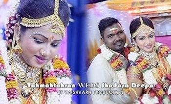 Tahmohtahran Shodasa Deepa Wedding Cinematic Highlight